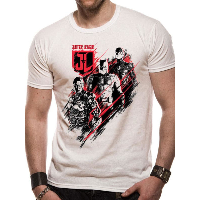 Justice League Movie Distortion T-Shirt