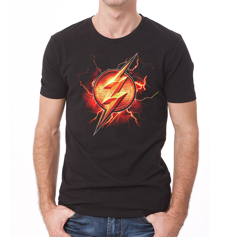 Buy Justice League Movie Flash Symbol T Shirt At Loudshop For