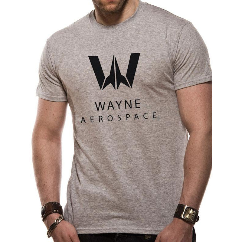 Justice League Movie - Wayne Aerospace T-Shirt