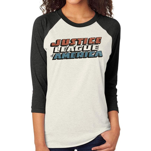 Justice League | Classic Logo Baseball Shirt