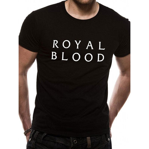 Royal Blood | Stacked Logo T-Shirt