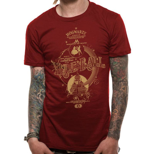 Harry Potter - Yule Ball T-Shirt Garnet