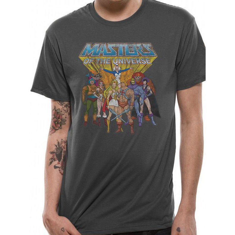 Masters Of The Universe - Group Distressed T-Shirt
