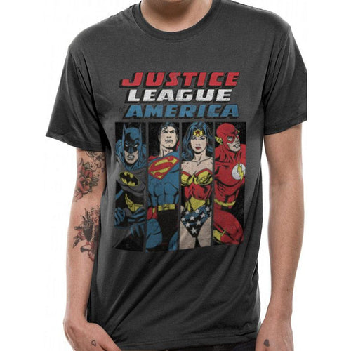 ae0edcf5288 Justice League - Line Up T-shirt