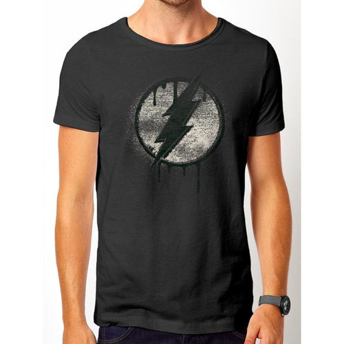 The Flash | Spray Logo Vintage T-Shirt