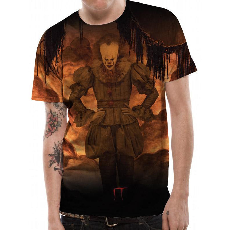 IT - Flames Sublimated T-shirt