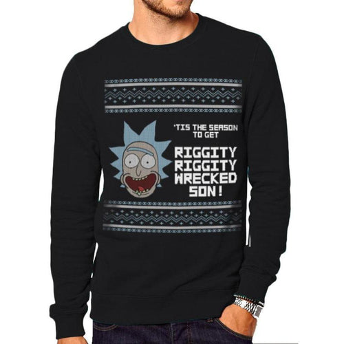 Rick And Morty - Tis The Season Crewneck Sweatshirt