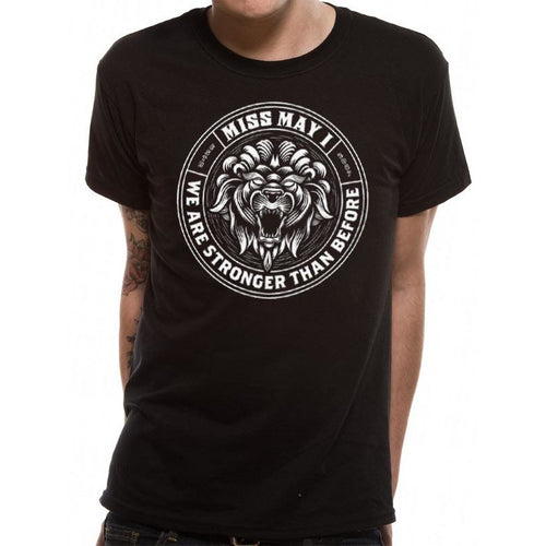Miss May I (Lion crest) T-shirt