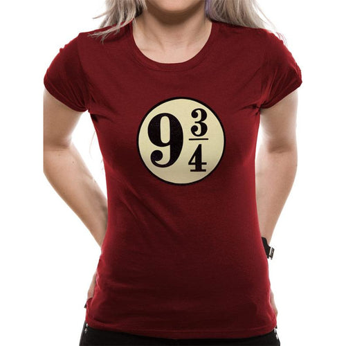 Harry Potter (Platform 9 3/4) Fitted T-shirt