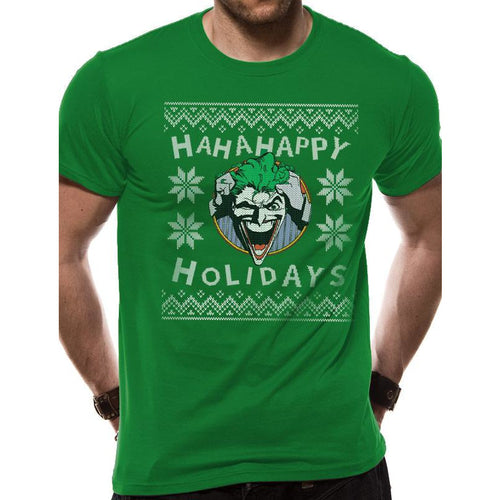 Joker - Ha Ha Happy Holidays T-shirt