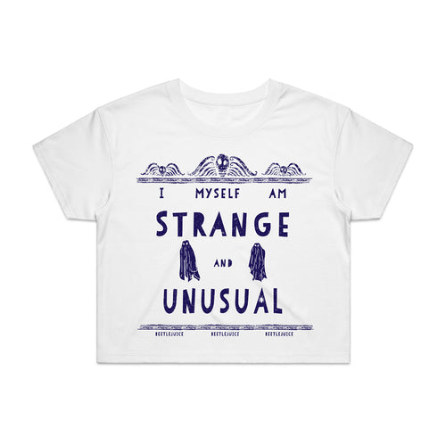 Beetlejuice | Strange & Unusual Crop Top