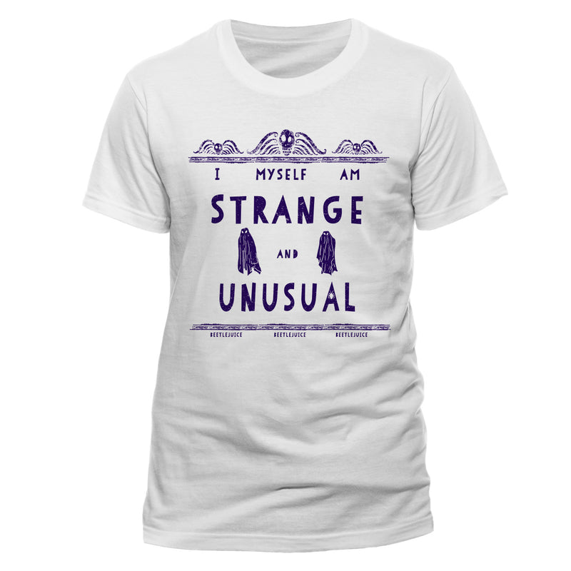 Beetlejuice | Strange And Unusual Unisex T-Shirt
