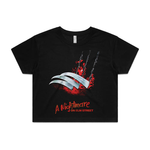 A Nightmare on Elm Steet - Blades Crop Top