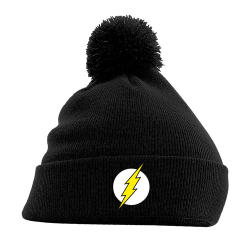 The Flash | Logo Black Beanie