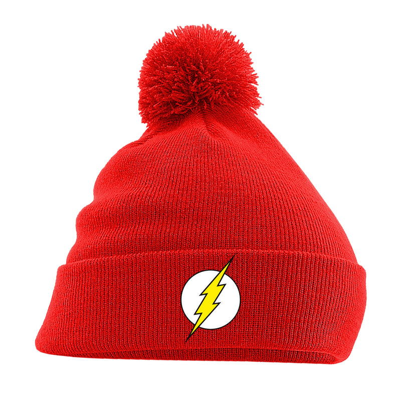 The Flash | Logo Pom Pom Beanie