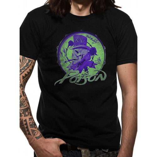 Poison Smoking Skull T-shirt