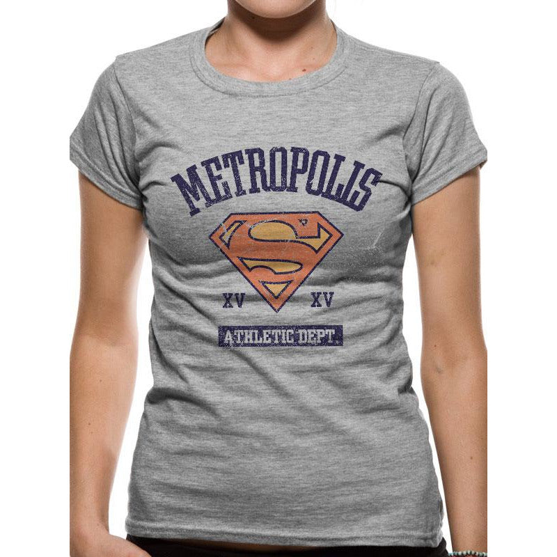 Supergirl | Athletic Dept Fitted T-Shirt