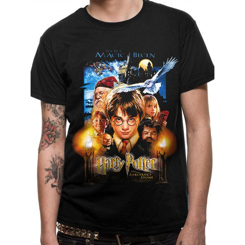 Harry Potter - Sorcerers Stone Movie Poster T-Shirt
