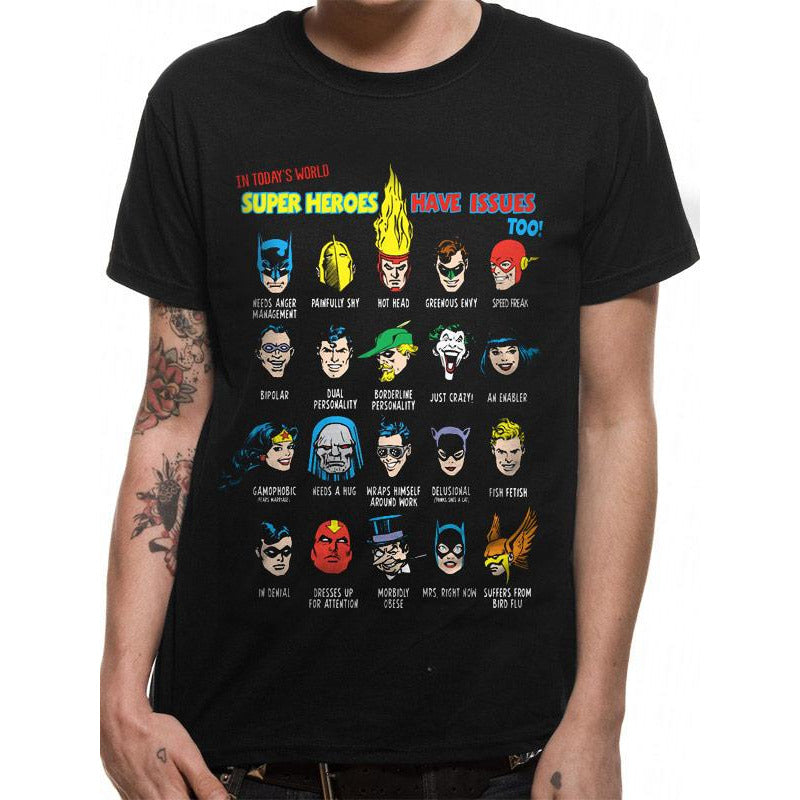 Justice League | Superhero Issues T-Shirt