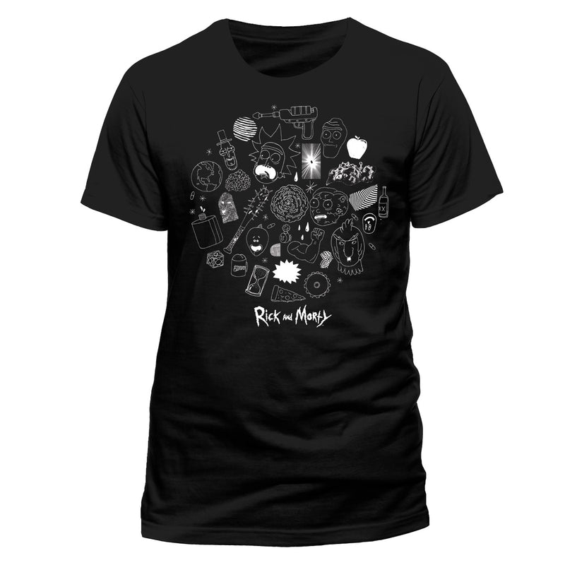 RICK AND MORTY - ICONS  T-Shirt
