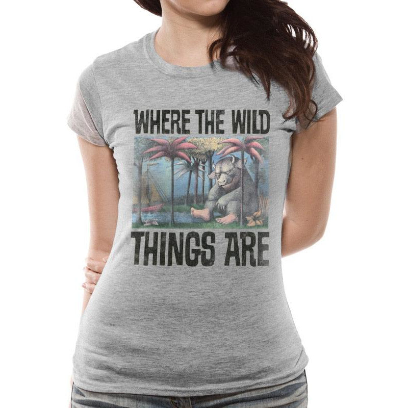 Where The Wild Things Are | Book Cover Fitted T-Shirt