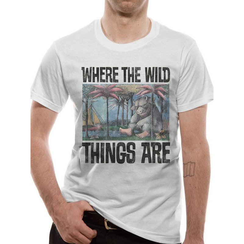 Where The Wild Things Are | Book Cover T-Shirt