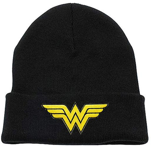 Wonder Woman - Logo Black Beanie