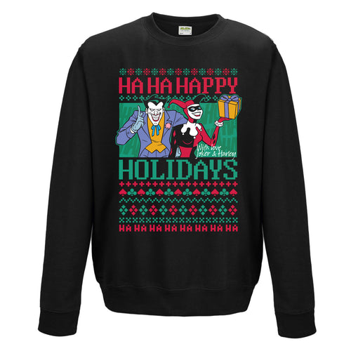 Batman - Ha Ha Happy Holidays Sweatshirt
