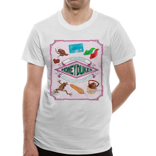 Harry Potter - Honeydukes T-Shirt White