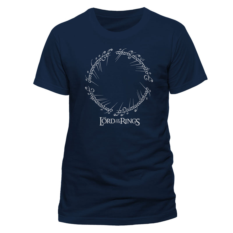 Lord of the Rings | Runes And Logo Unisex T-Shirt