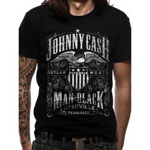 Johnny Cash - Label T-shirt