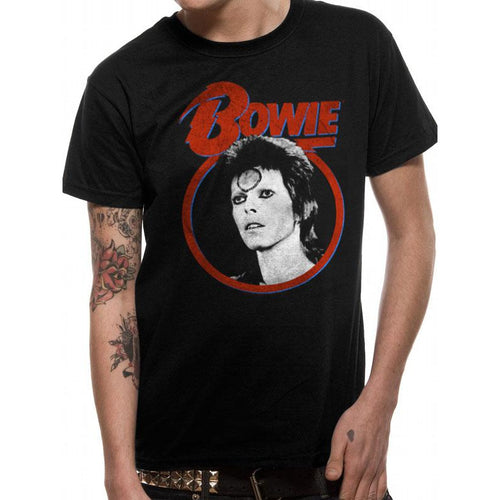 David Bowie - Ziggy Face T-shirt