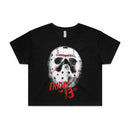 Friday The 13th | Jason Mask Crop Top