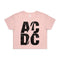 AC/DC | Stacked Logo Crop Top