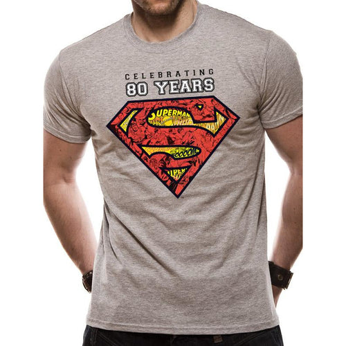 Superman - Celebrating 80 Years T-shirt