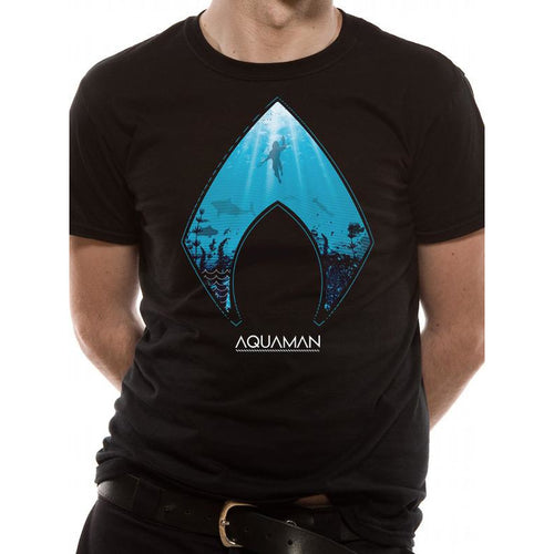 Aquaman | Logo And Symbol T-Shirt
