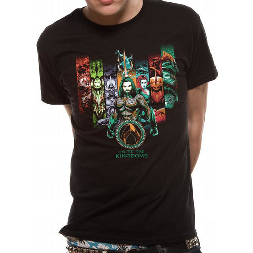 Aquaman Movie - Unite The Kingdoms Unisex T-Shirt