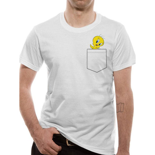 Looney Tunes | Tweety Pocket T-Shirt