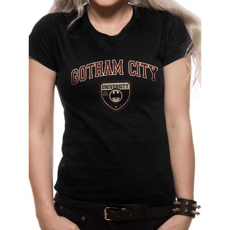 Batman | Gotham City University Womens T-Shirt