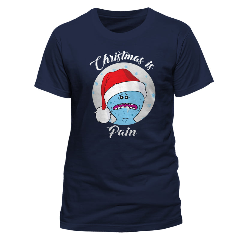 Rick And Morty | Christmas Is Pain T-Shirt