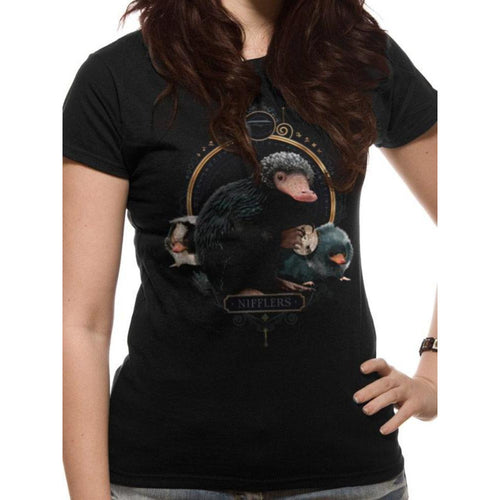 Fantastic Beasts The Crimes of Grindelwald | Nifflers Fitted T-Shirt