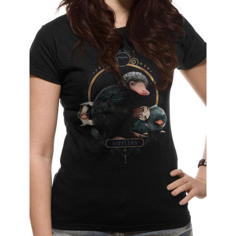 Crimes Of Grindelwald - Nifflers Fitted T-shirt