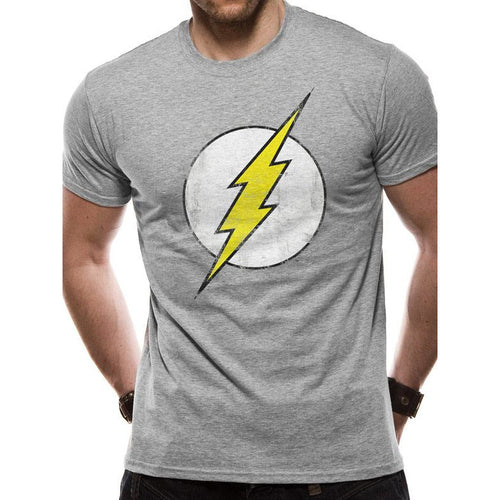 The Flash - Distressed Logo T-Shirt