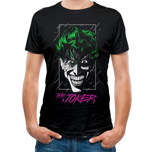 The Joker Colour Outline T-Shirt