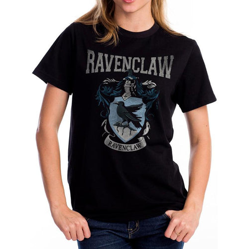 Harry Potter | Ravenclaw Varsity Crest Black T-Shirt