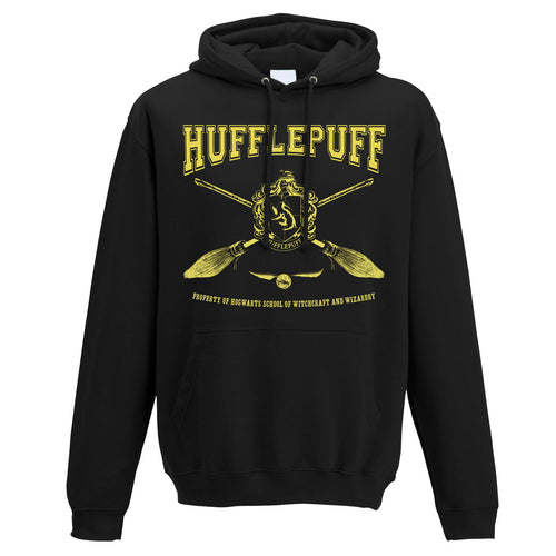 Harry Potter - Collegiate Hufflepuff Hooded Sweatshirt