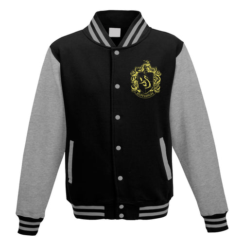 Harry Potter - Collegiate Hufflepuff Varsity Jacket