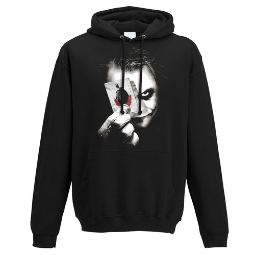 Batman The Dark Knight | Why So Serious Hooded Sweatshirt