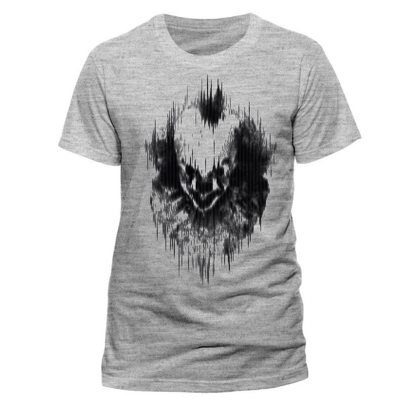 IT Chapter Two Distorted Face | Grey Unisex T-Shirt