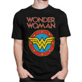 Wonder Woman | Vintage Crest Logo T-Shirt